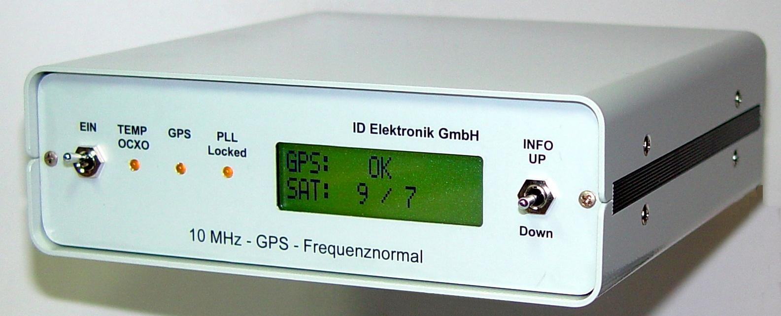 GPS Stabilized 10 MHz Oscillator