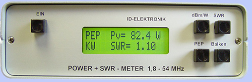 Power + SWR Meter